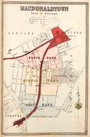 Macdonaldtown Suburban Map