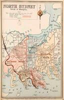 North Sydney Suburban Map