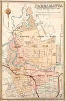 Parramatta Suburban Map