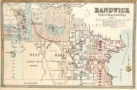 Randwick Suburban Map