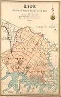 Ryde Suburban Map
