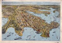 City of Sydney (a Bird's Eye View), 1888