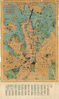 Map of Sydney, 1923