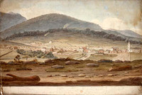 Panorama of Hobart, c.1825 Panel 2