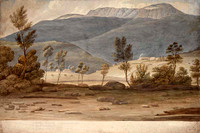 Panorama of Hobart, c.1825 Panel 1