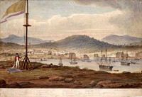 Panorama of Hobart, c.1825 Panel 3