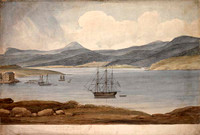 Panorama of Hobart, c.1825 Panel 4