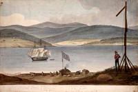 Panorama of Hobart, c.1825 Panel 5
