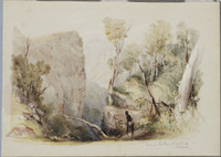 Scene in the Blue Mountains NSW, c.1835