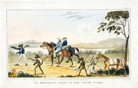 An exploring party in NSW, 1826