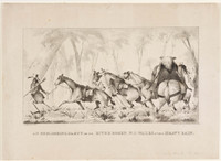 Exploring party on the River Bogen, NSW, 1837