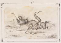 Hunting the Emu in Australia, 1850