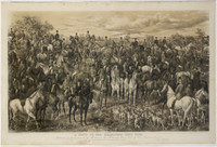 Meet of the Melbourne Hunt Club, 1893