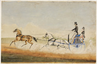 Mortimer William Lewis out driving, c.1839