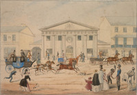 New Post Office, George Street, Sydney, 1846