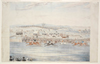 Race meeting at Petersham, c.1845