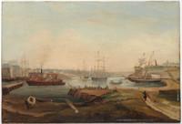 Sydney Cove, 1840s