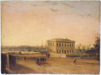 Custom House and Circular Quay, 1845