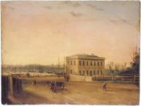 Custom House and Circular Quay, 1845