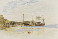 Gas Works, Millers Point, c.1873