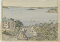 South Head, Sydney Harbour from Potts Point, 1940