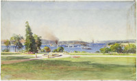 Sydney Harbour, 1900