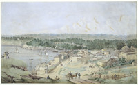 Millers Point, Sydney (or Sydney in the Forties), c.1845