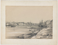 View in Sydney Cove, NSW, 1845