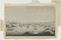 View of the Town and Cove of Sydney, New South Wales, c.1811