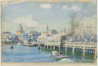 Pyrmont Bridge, c.1900