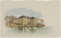 Queens Wharf, Circular Quay, 1873