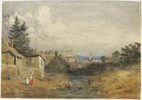 Old Tank Stream, Sydney, c.1852