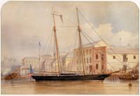 Circular Quay, c.1854
