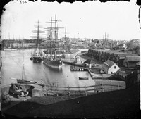 Circular Quay from Dawes Battery, 1873