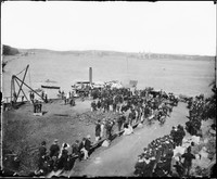 Funeral of Commodore Goodenough, 1875