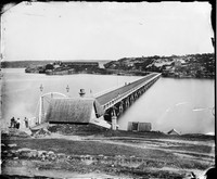 Glebe Island Bridge, 1873