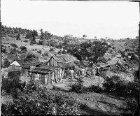 Gold mines, Hawkins Hill and Nuggetty Gully 1872