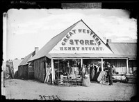 Great Western Store, Hill End 1872