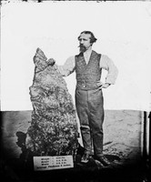 Holtermann with 'Holtermann nugget', Hill End 1872
