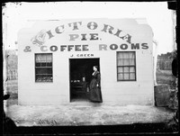 J Green's Pie and Coffee Rooms, Hill End 1872