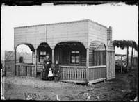 J Heins's cottage, Gulgong 1872