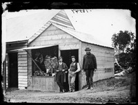 Lysaught's butcher shop, Hill End 1872