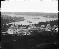 Sydney Harbour from Holtermann's house 1875