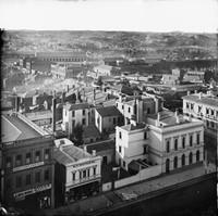 View across Ballarat, 1874