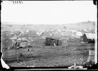 View of Gulgong from Church Hill, 1872