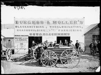 Wheelwright Burgess and Moller, Hill End 1872