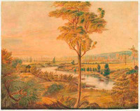 A view of the River Hawkesbury, NSW, c.1810