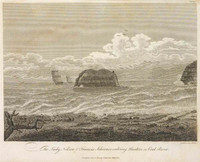 Lady Nelson & Francis Schooner entering Hunters or Coal River, 1804