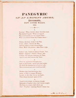 Panegyric on an eminent artist, Parramatta, NSW, 1804