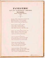 Panegyric on an eminent artist, Parramatta, NSW, 1804